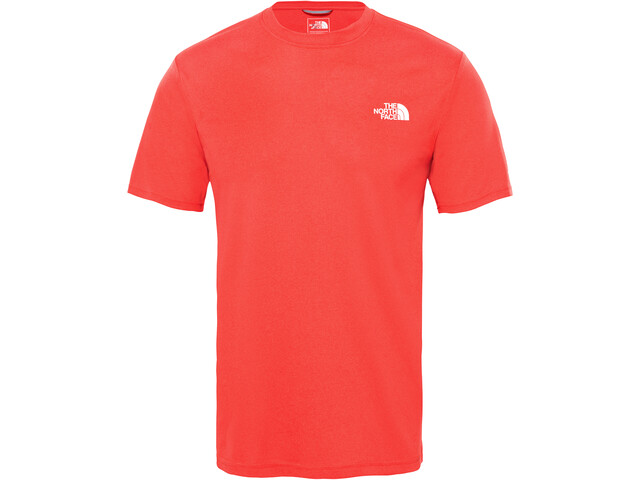 The North Face Reaxion Ampere T-shirt à col ras-du-cou Homme, tnf red heather